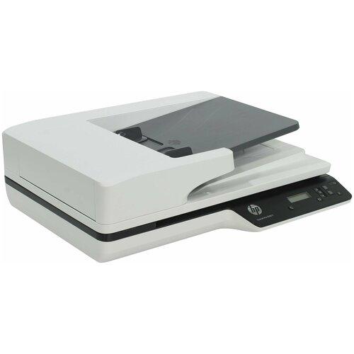 Сканер HP ScanJet Pro 3500 f1 белый/черный