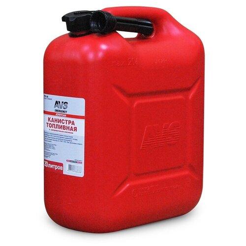 Канистра для бензина, топлива (пластик) AVS TPK-20 20 литров A78363S