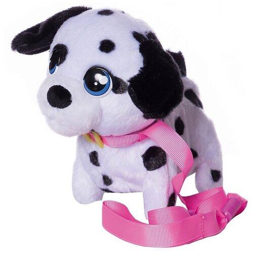Фото - Интерактивная мягкая игрушка Club Petz Mini Walkiez Щенок, dalmatian интерактивная мягкая игрушка mioshi active весёлый щенок mac0601 006 белый