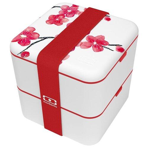 Фото - Monbento Ланч-бокс Square, 14x14 см, blossom monbento ланч бокс tresor 16x10 4 см горчичный