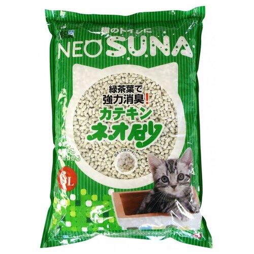 Фото - Комкующийся наполнитель Neo loo life с экстрактом зеленого чая, 6 л впитывающий наполнитель for cats с ароматом зеленого чая 4 л