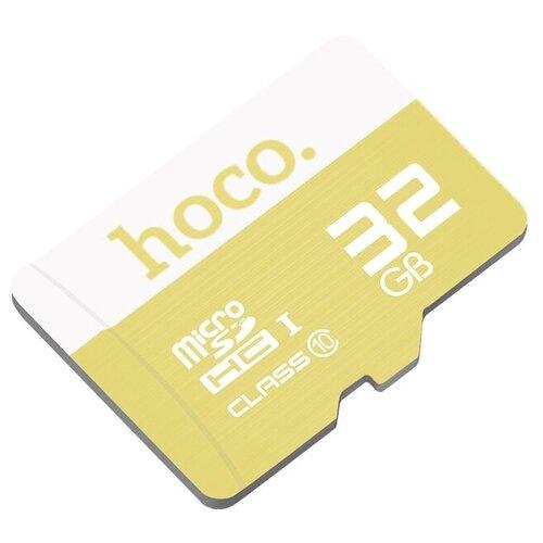 Фото - Карта памяти Hoco Micro SDHC 32 GB, желтый карта памяти hoco micro sd 4gb синяя