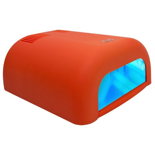 Лампа UV planet nails 36W ASN Tunnel, 36 Вт велюр оранжевая  - Купить
