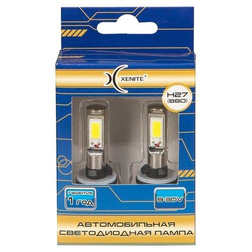 Лампа автомобильная светодиодная Xenite 1009434 H27 (880) 9-30V 18W 2 шт.