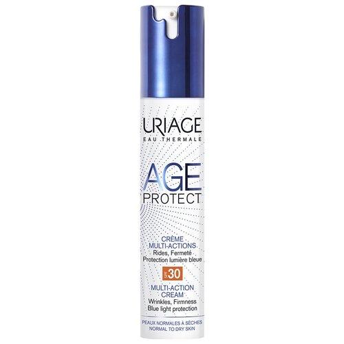 Крем Uriage Age Protect Multi-Action SPF 30 многофункциональный для лица, 40 мл