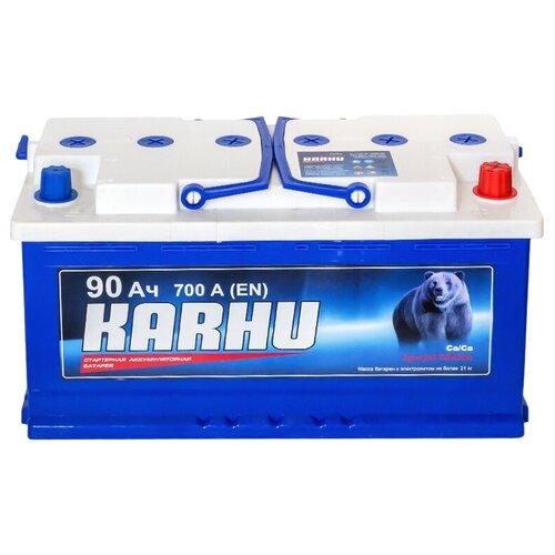 Автомобильный аккумулятор KARHU 6СТ90
