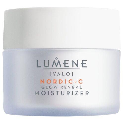 Фото - Lumene Valo Nordic-C Glow Reveal Vitamin C Moisturizer Придающий сияние дневной крем для лица, 50 мл очищающий гель скраб для лица придающий сияние nordic c [valo] 125мл