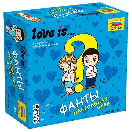Фото - Настольная игра ZVEZDA Love is... ФАНТЫ настольная игра zvezda фиксики викторина всезнайки