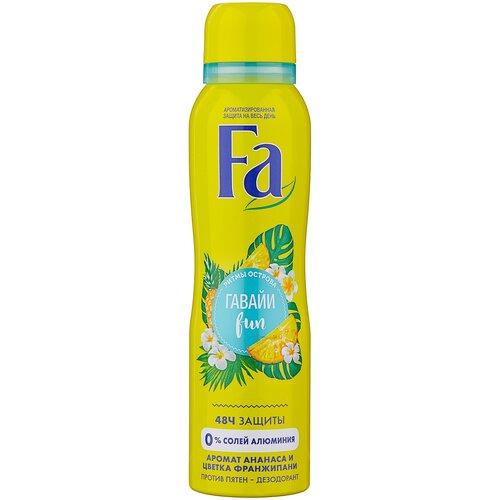 Fa дезодорант, спрей, Ритмы острова Гавайи Fun, 150 мл