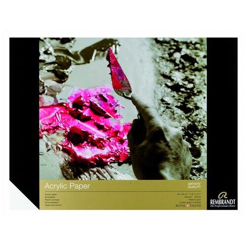 Фото - Альбом для акрила Royal Talens Rembrandt 40 х 30 см, 400 г/м², 10 л. альбом для акварели royal talens rembrandt 32 х 24 см 300 г м² 20 л