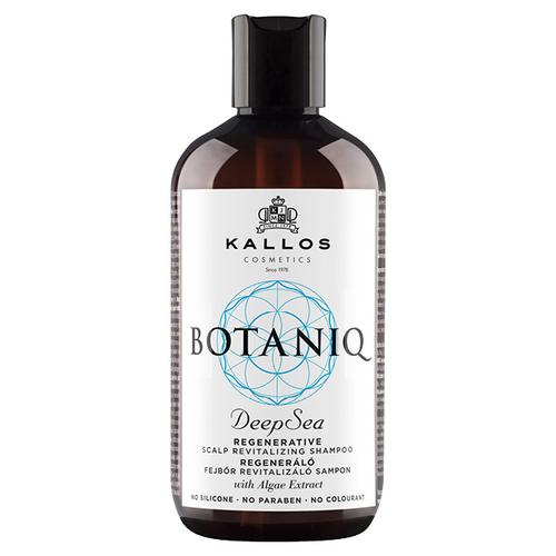 Шампунь Kallos Cosmetics BOTANIQ успокаивающий с морскими минералами для чувствительных волос и кожи головы.