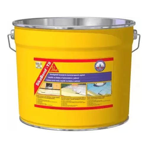 Плиточный эластичный клей-гидроизоляция Sika Sikabond-T8, 10 кг