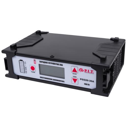 Зарядное устройство P.I.T. PO220-30А черный