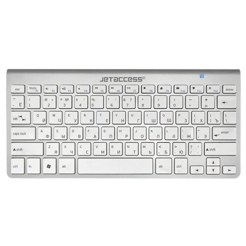 Клавиатура Jet.A SlimLine K9 BT Silver Bluetooth