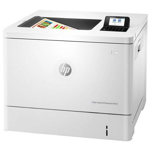 Принтер HP Color LaserJet Enterprise M554dn, серый