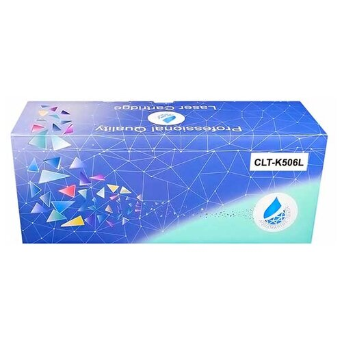 Фото - Картридж Aquamarine CLT-K506L (совместимый с картриджем Samsung CLT-K506L) картридж aquamarine ml 1210d3 совместимый с картриджем samsung ml 1210d3