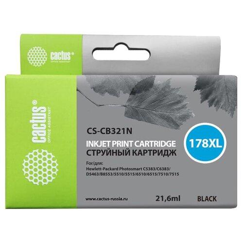Фото - Картридж cactus CS-CB321N 21.6 мл., совместимый картридж cactus cs cli471xlbk 10 2 мл совместимый
