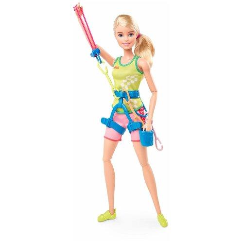 Кукла Barbie Олимпийская спортсменка Спортивный альпинизм, 30 см, GJL75