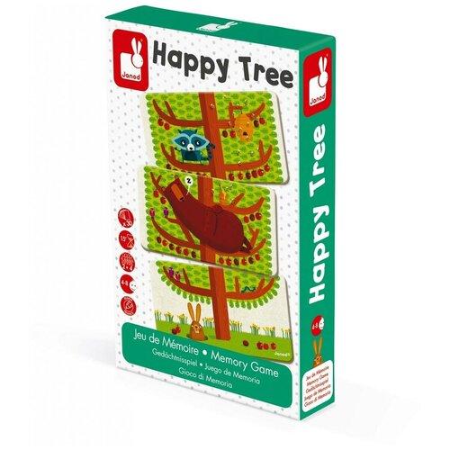 Фото - Настольная игра Janod Счастливое дерево настольные игры janod игра настольная шахматы луна парк