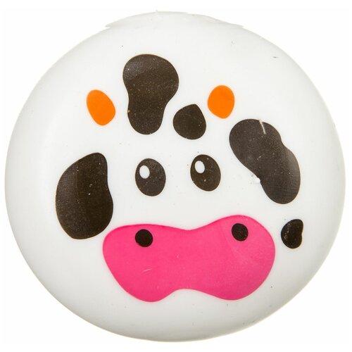 Игрушка-мялка BONDIBON Чудики Корова (ВВ3572) белый