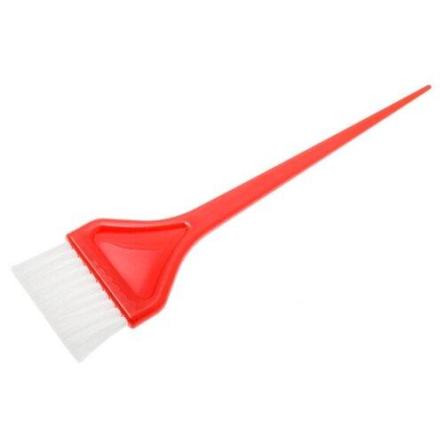 Купить Кисть для окрашивания Harizma, широкая, красная h10954-04