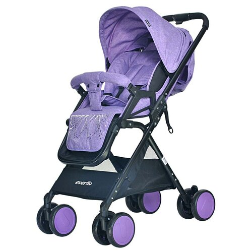 Фото - Прогулочная коляска everflo E-550 Cruise, purple прогулочная коляска everflo easy guard jeans