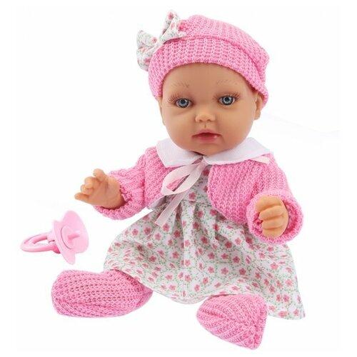 Купить Пупс 1 TOY в платье, 28 см, Т14113, Куклы и пупсы