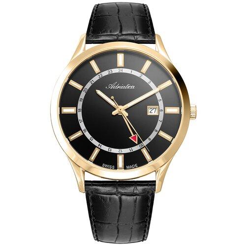 Фото - Швейцарские часы наручные мужские Adriatica A8289.1214Q мужские часы adriatica a1246 5217q