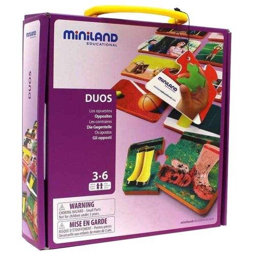 Купить Настольная игра Miniland Магнитная игра Противоположности, Настольные игры