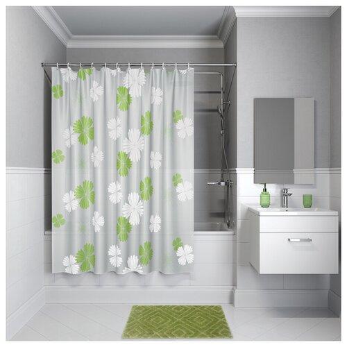 Штора для ванной комнаты, 180*180см, PEVA, P07PV11i11, IDDIS штора для ванной комнаты 180 180см peva p27pv11i11 iddis