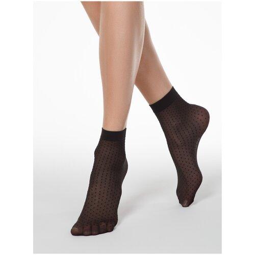 Капроновые носки Conte Elegant 16С-127СП, размер 23-25, grafit