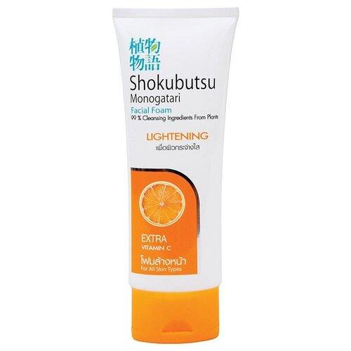 Фото - Shokubutsu пенка для умывания для сухой и нормальной кожи Апельсин, 100 г shokubutsu пенка для лица для контроля за жирным блеском яблоко 100 г