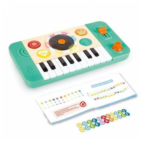 Купить Hape пианино E0621 красный/белый/зеленый, Детские музыкальные инструменты