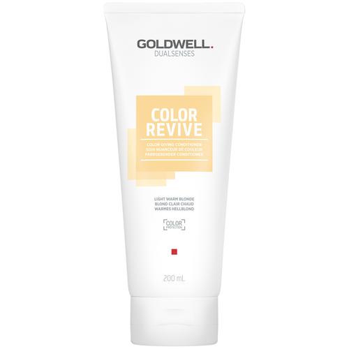 Купить Goldwell оттеночный кондиционер для волос Dualsenses Color Revive Conditioner Warm Light Blond Светлый теплый блонд, 200 мл