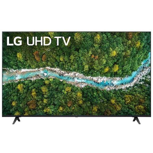 Телевизор LG 60UP77506LA 60 (2021), черный телевизор lg 32lv340c черный