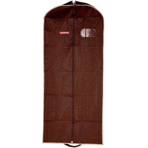 Фото - HAUSMANN Чехол для верхней одежды HM-701403 140x60 см коричневый hausmann чехол для верхней одежды hm 701403 140x60 см черный
