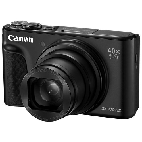 Фото - Фотоаппарат Canon PowerShot SX740 HS черный фотоаппарат canon powershot sx740 hs серебристый коричневый