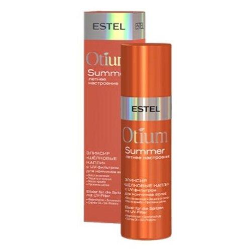Купить Estel Professional Эликсир Шёлковые капли с UV-фильтром для кончиков волос OTIUM SUMMER, 100 мл