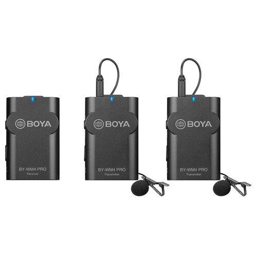 Беспроводная система Boya BY-WM4 Pro-K2, цифровая, 2.4 ГГц