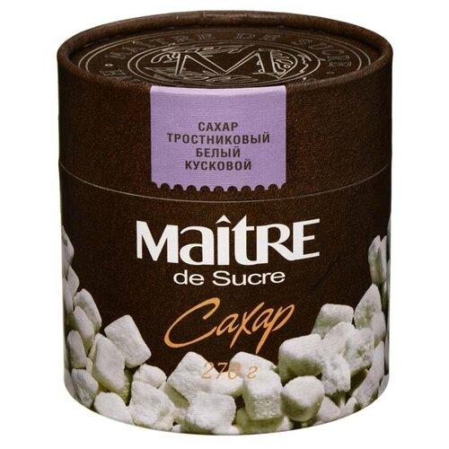 Фото - Сахар Maitre тростниковый кусковой, картонная упаковка, 270 г сахар темный dansukker кусковой 500 г