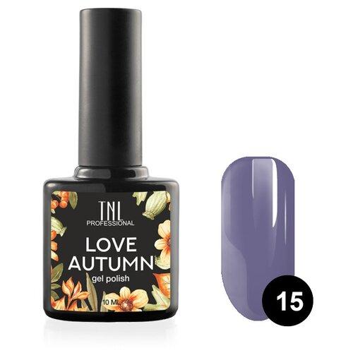 Гель-лак для ногтей TNL Professional Love Autumn, 10 мл, №15 - пепельно-лавандовый гель лак для ногтей tnl tnl tn001lwdejy2