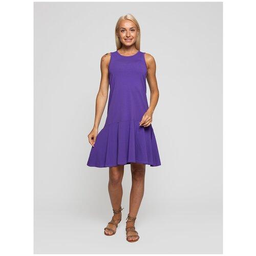Женское легкое платье сарафан, Lunarable фиолетовое, размер 44