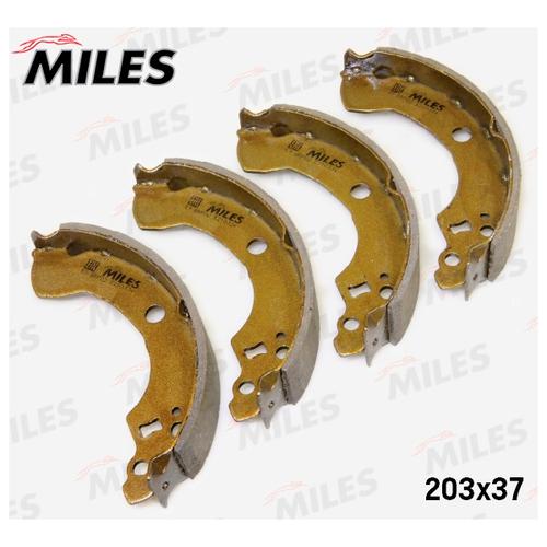 Барабанные тормозные колодки MILES E210334 для Nissan Almera, Nissan Primera