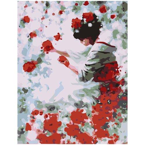 Купить Картина по номерам Фея роз, 60 х 70 см, Красиво Красим, Картины по номерам и контурам