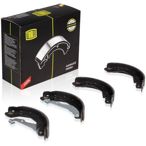 Барабанные тормозные колодки задние TRIALLI GF0542 для Daewoo Kalos, Chevrolet Aveo, Chevrolet Spark (4 шт.) барабанные тормозные колодки задние mando mld04 для daewoo chevrolet opel 4 шт