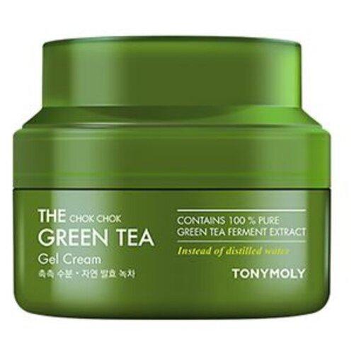TONY MOLY The Chok Chok Green Tea Gel Cream Гель-крем для лица с экстрактом зеленого чая, 60 мл tony moly the chok chok green