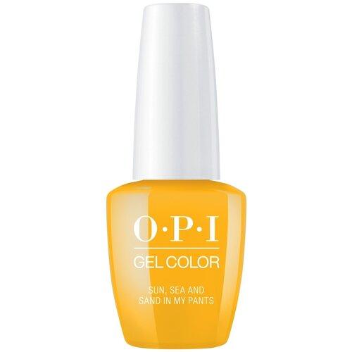 Гель-лак для ногтей OPI GelColor Lisbon, 15 мл, Sun, Sea, and Sand in My Pants гель лак для ногтей opi gelcolor lisbon 15 мл tagus in that selfie