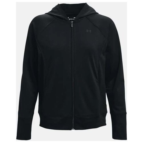 Толстовка Under Armour Tricot Jacket размер SM, Black (001) леггинсы under armour heatgear armour 1331723 размер ymd black