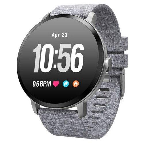 детские умные часы zdk q360 голубой Умные часы ZDK V11, серый