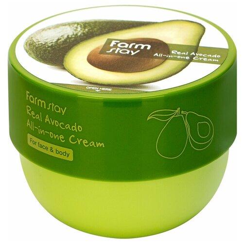 Антивозрастной крем с экстрактом авокадо, 300мл, FarmStay
